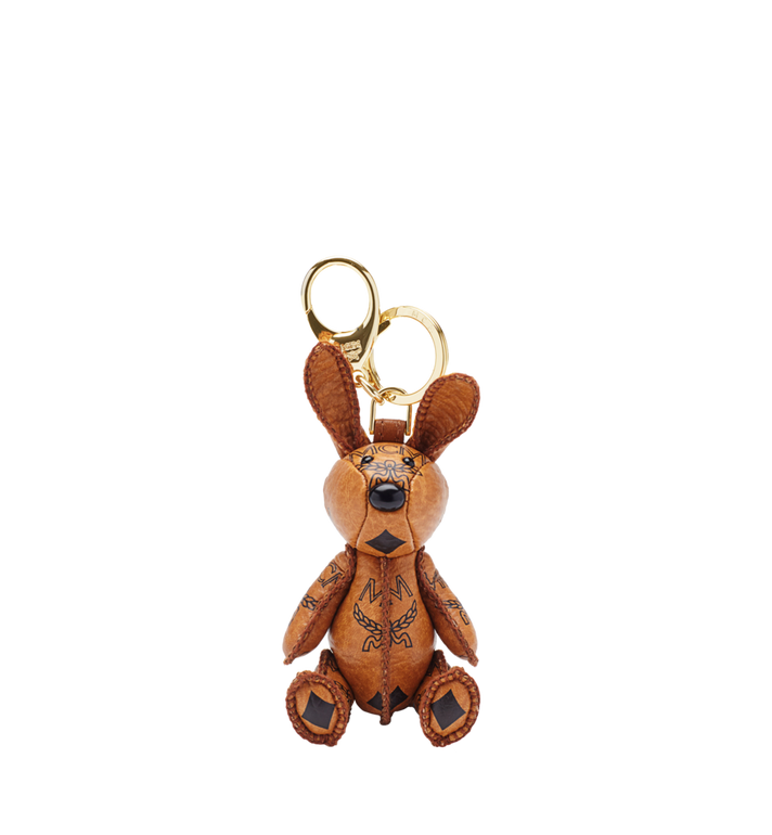 MCM MCM Zoo Rabbit Charm en Visetos MYZ5AVI38CO001 AlternateView
