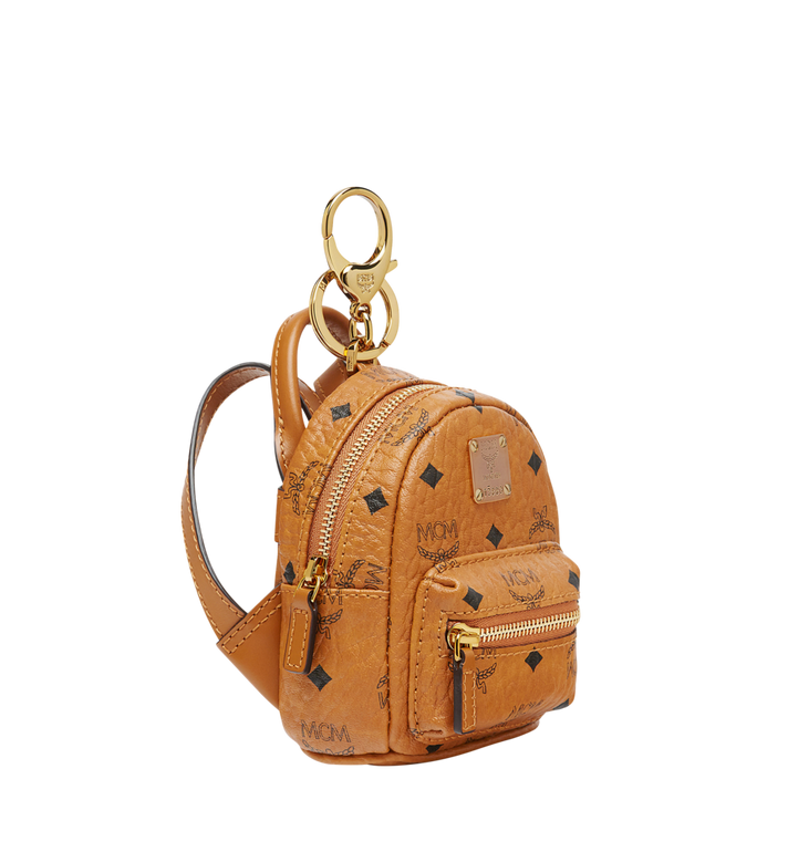 MCM Backpack Charm in Visetos MYZ7AVE26CO001 AlternateView2