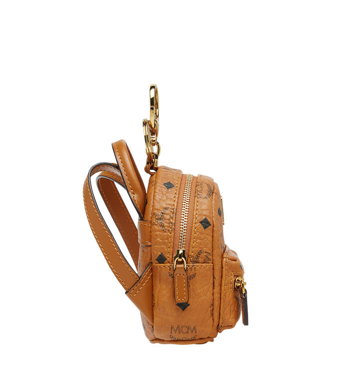 MCM Backpack Charm in Visetos MYZ7AVE26CO001 AlternateView3
