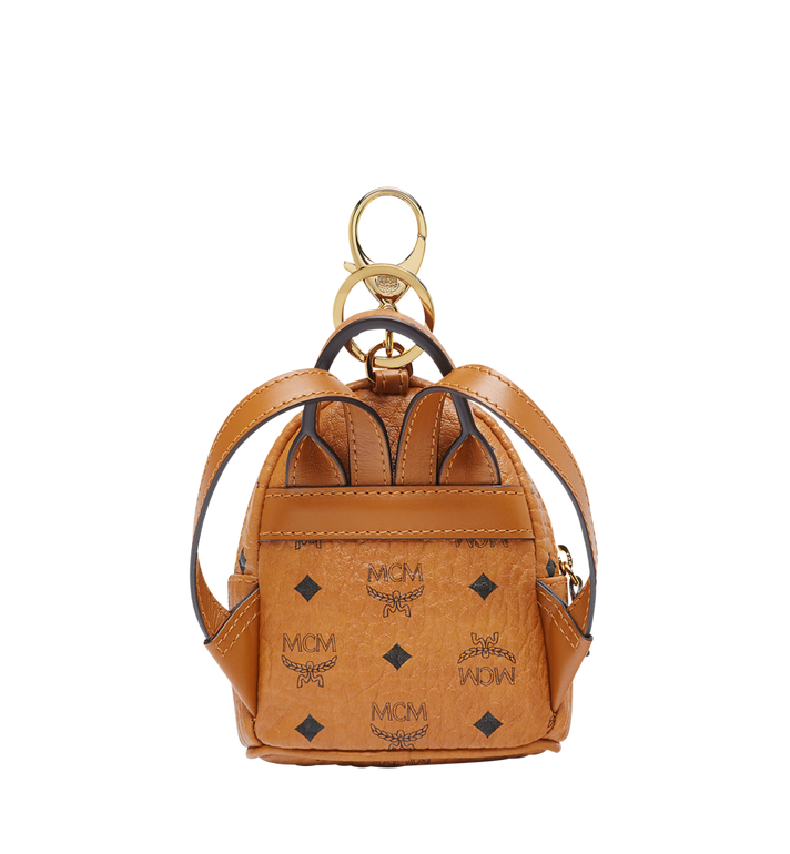 MCM Backpack Charm in Visetos MYZ7AVE26CO001 AlternateView4