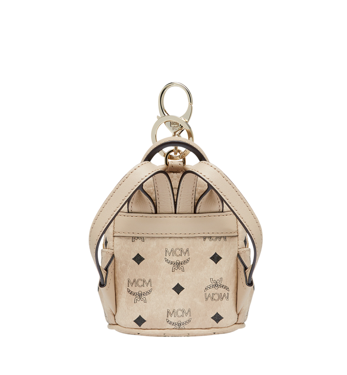 MCM Backpack Charm in Visetos MYZ7AVE26IG001 AlternateView4