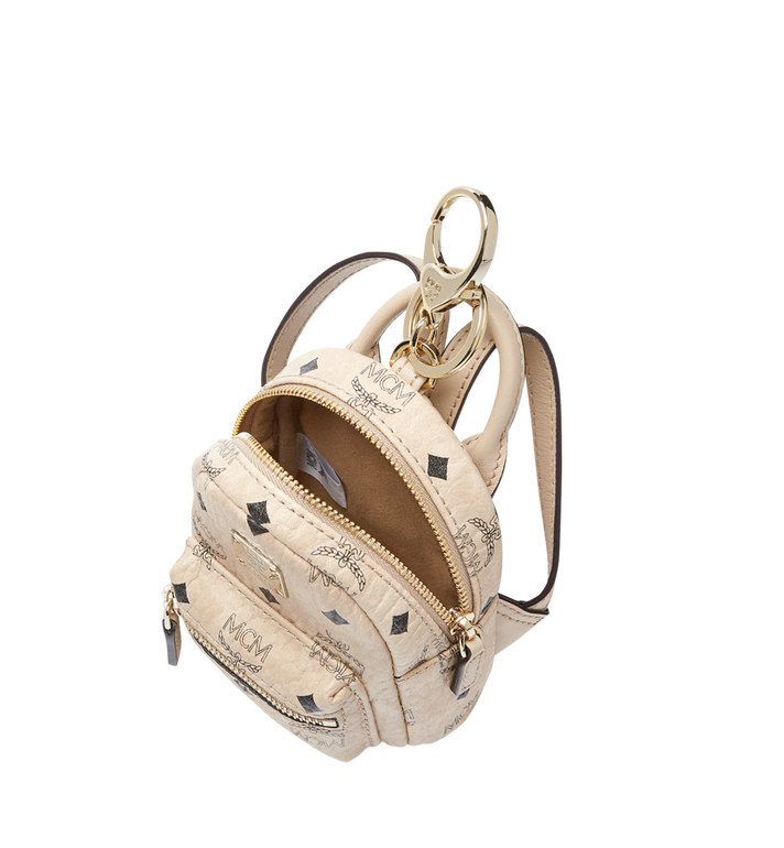 MCM Backpack Charm in Visetos MYZ7AVE26IG001 AlternateView5
