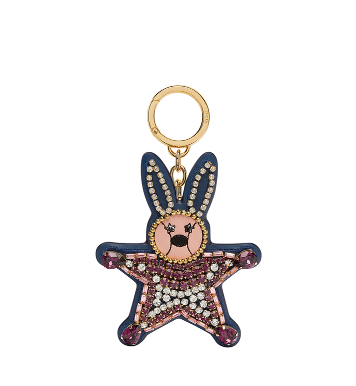MCM Crystal Star Rabbit Charm in Leather MYZ7AXA23PV001 AlternateView