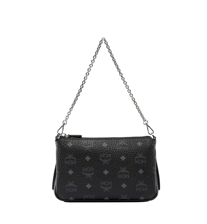 MCM Millie Top Zip Shoulder Bag in Visetos AlternateView1