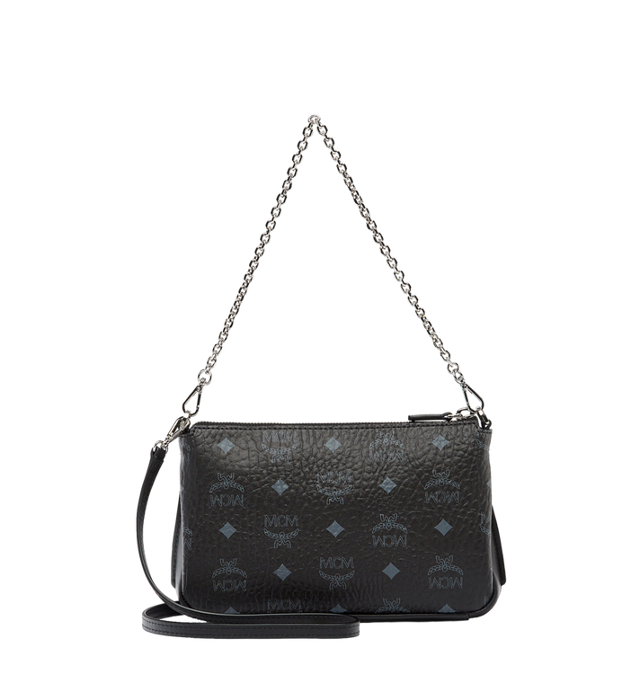 MCM Millie Top Zip Shoulder Bag in Visetos AlternateView4