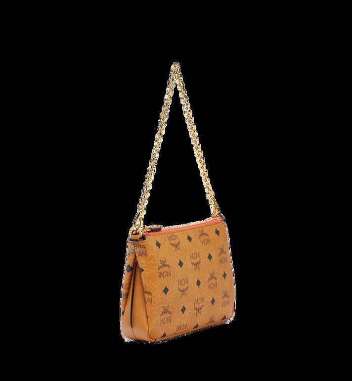 MCM Millie Top Zip Shoulder Bag in Visetos AlternateView2