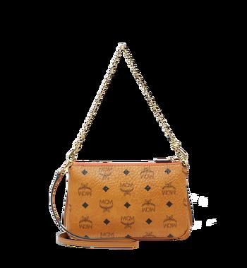 MCM Millie Top Zip Shoulder Bag in Visetos MYZ7SME02CO001 AlternateView4
