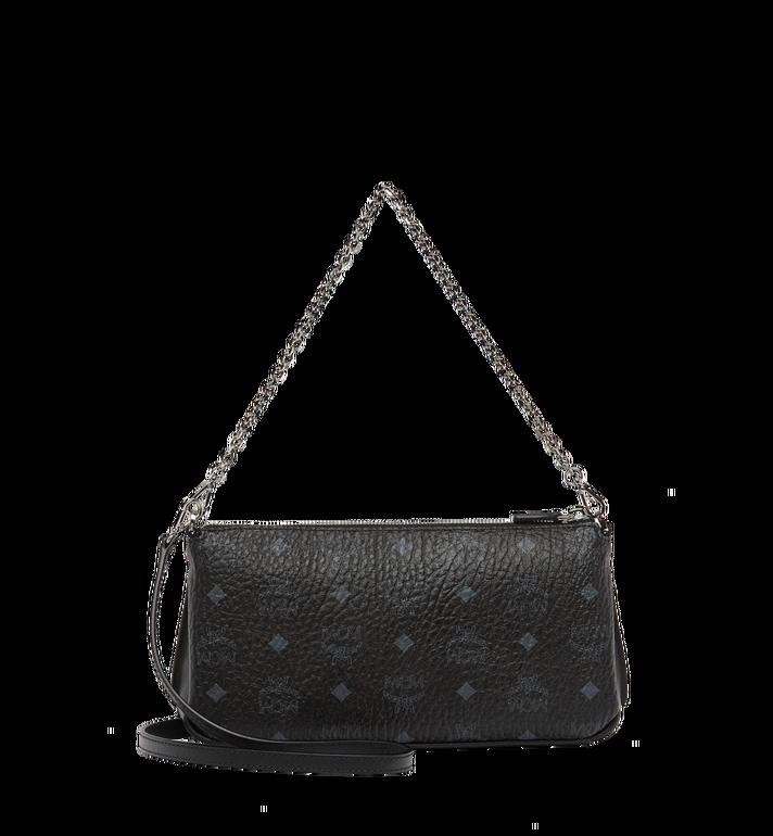 MCM Millie Top Zip Shoulder Bag in Visetos MYZ7SME03BK001 AlternateView4