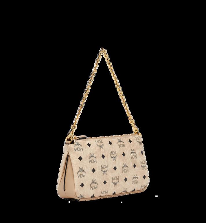 MCM Millie Top Zip Shoulder Bag in Visetos MYZ7SME03IG001 AlternateView2