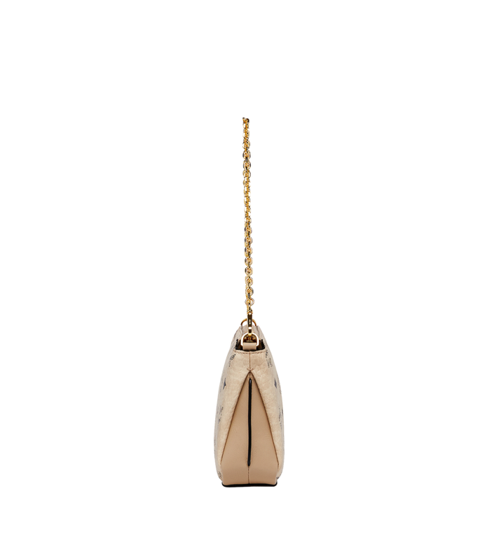 MCM Millie Top Zip Shoulder Bag in Visetos MYZ7SME03IG001 AlternateView3