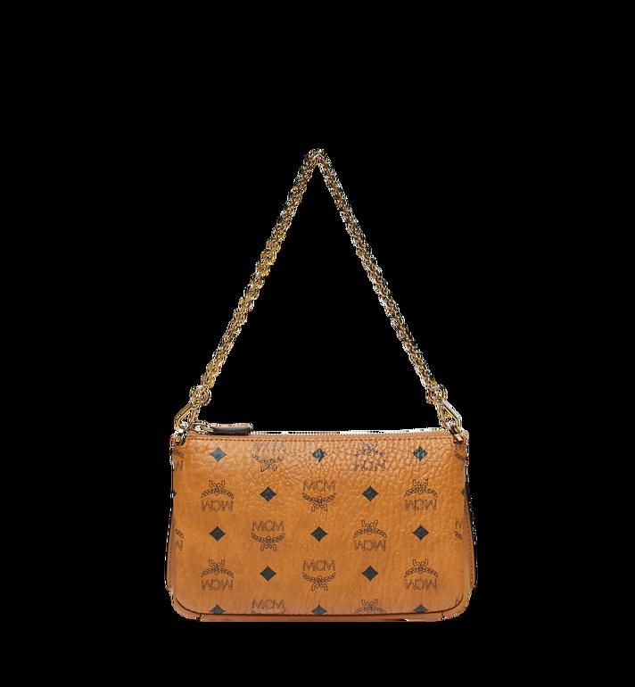 MCM Millie Crossbody-Tasche mit Reissverschluss oben in Visetos MYZ8AME02CO001 AlternateView