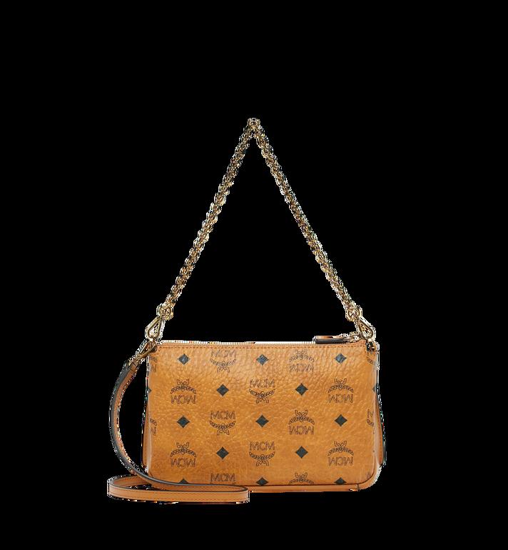 MCM Millie Crossbody-Tasche mit Reissverschluss oben in Visetos MYZ8AME02CO001 AlternateView4