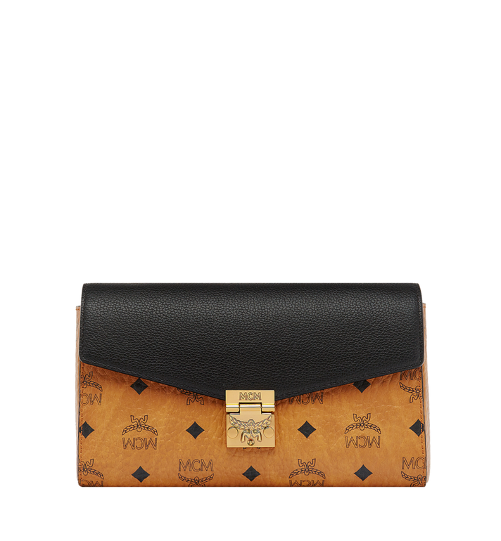 MCM Millie Flap Crossbody in Visetos Leather Block AlternateView