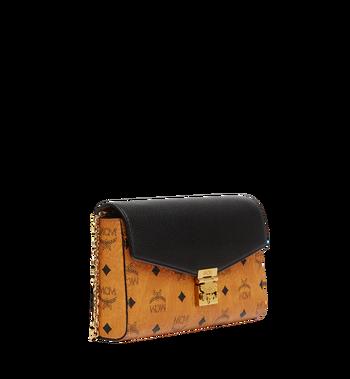 MCM Millie Flap Crossbody in Visetos Leather Block MYZ8AME22BK001 AlternateView2