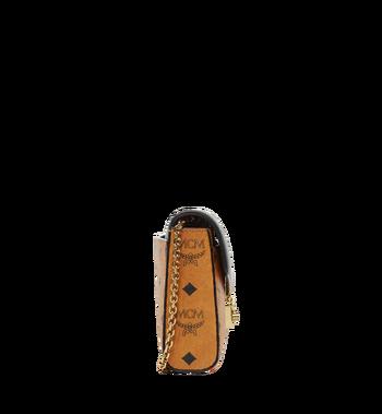 MCM Millie Flap Crossbody in Visetos Leather Block MYZ8AME22BK001 AlternateView3