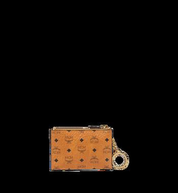 MCM Original Schlüsseltäschchen in Visetos MYZ8SVI06CO001 AlternateView3