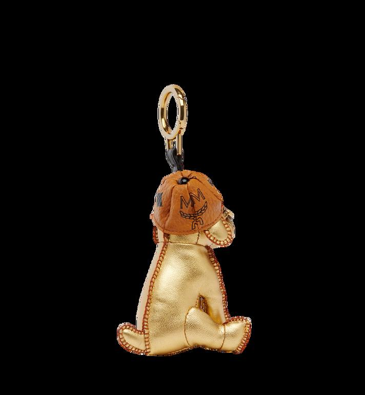 MCM Goldener Hundeanhänger MYZ8SXA61DG001 AlternateView2
