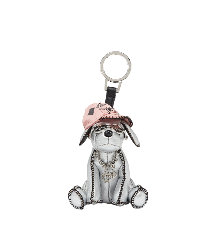 MCM Silver Dog Animal Charm MYZ8SXA61SV001 AlternateView