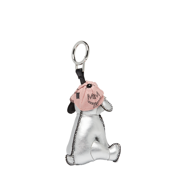 MCM Silver Dog Animal Charm MYZ8SXA61SV001 AlternateView2