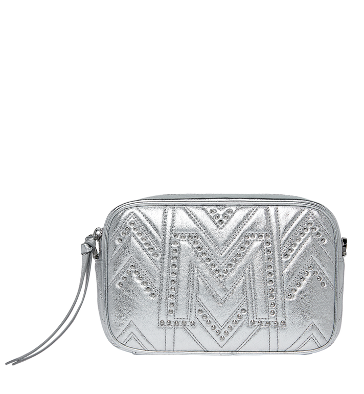 MCM Camera Bag in Quilted Studs MYZ9SKL01SB001 AlternateView