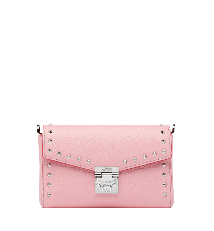 MCM Millie Flap Crossbody-Tasche aus Studded Outline Leder MYZ9SME15QB001 AlternateView