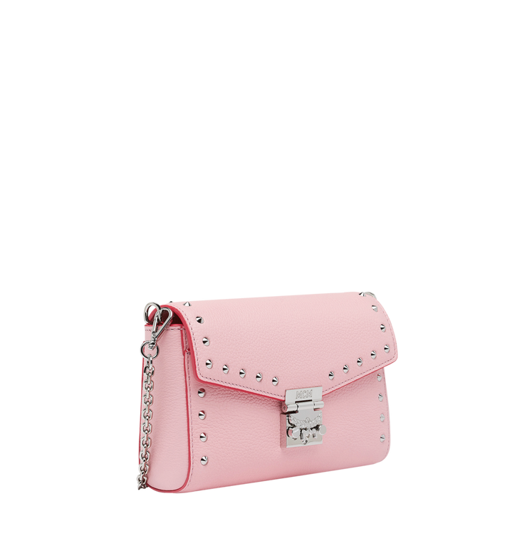 MCM Millie Flap Crossbody-Tasche aus Studded Outline Leder MYZ9SME15QB001 AlternateView2