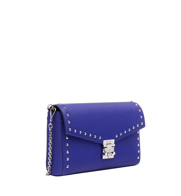 MCM Millie Flap Crossbody-Tasche aus Studded Outline Leder MYZ9SME16HG001 AlternateView2