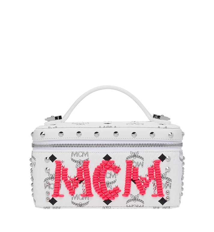 MCM Kosmetikkoffer aus Rockstar Stud Leder AlternateView