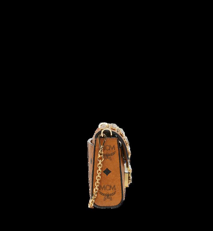 MCM Diamond Visetos Flap Crossbody-Tasche MYZ9SVI12CO001 AlternateView3