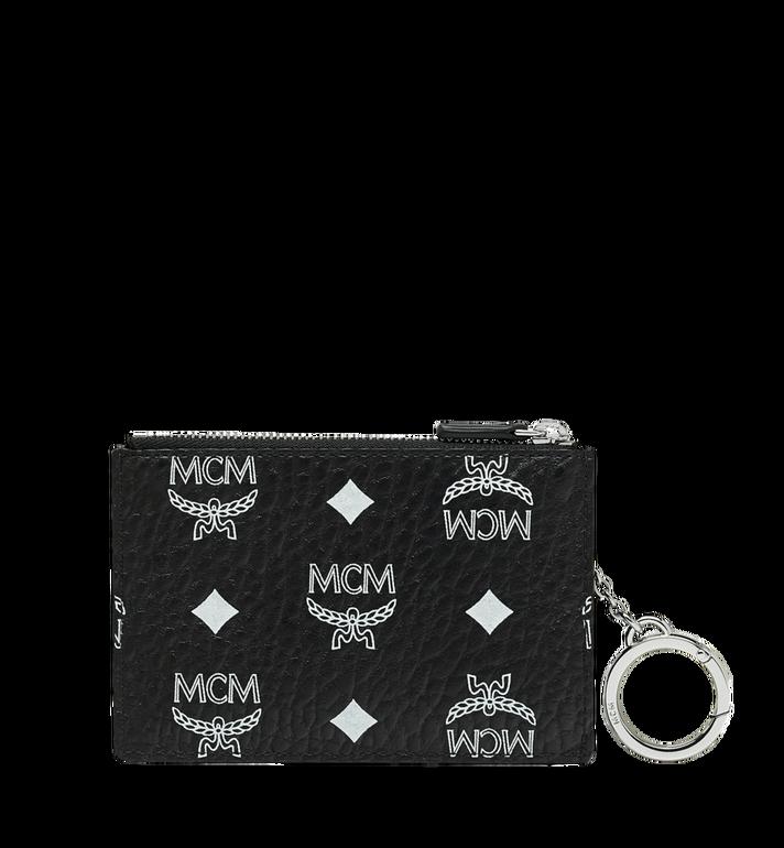 MCM Schlüsseltäschchen mit Visetos Logo in Weiss MYZ9SWA09BV001 AlternateView3