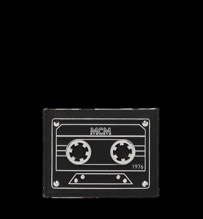 MCM Card Case in MCM Cassette MZA8AMM26BK001 AlternateView