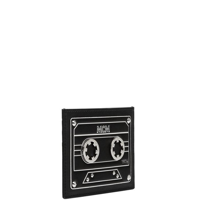 MCM Card Case in MCM Cassette MZA8AMM26BK001 AlternateView2