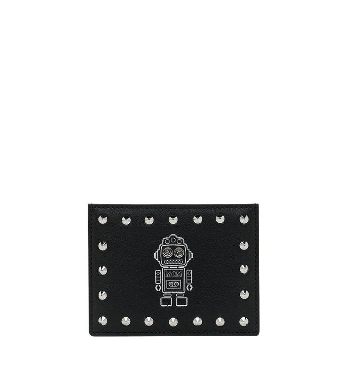 MCM Roboter Kartenetui aus Nappaleder MZA9SRO36BK001 AlternateView