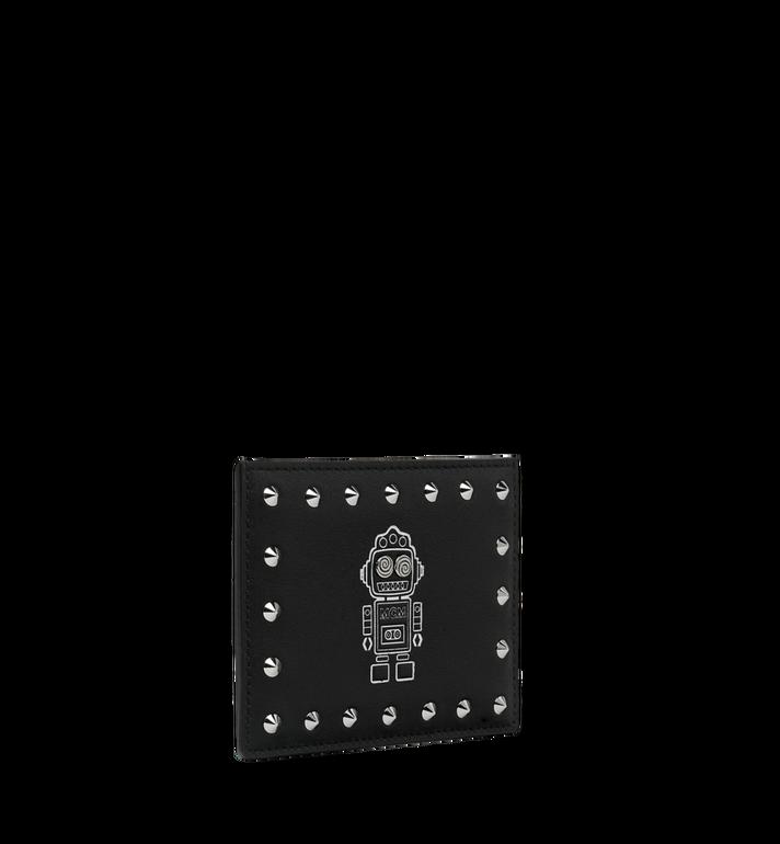 MCM Roboter Kartenetui aus Nappaleder MZA9SRO36BK001 AlternateView2