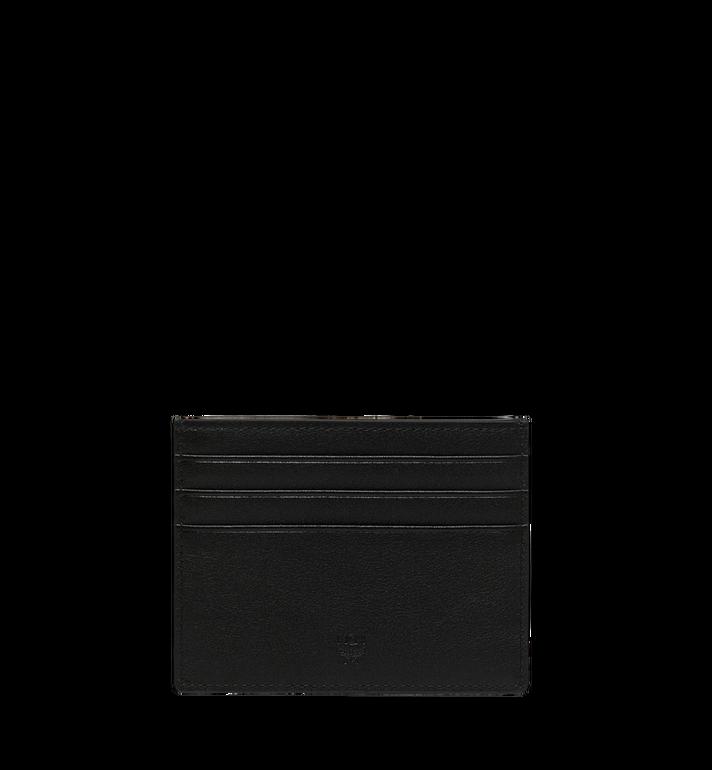 MCM Roboter Card Case in Nappa Leather MZA9SRO36BK001 AlternateView3