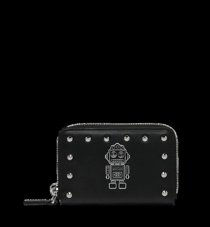 MCM Roboter Kartenbrieftasche aus Nappaleder mit MZS9SRO34BK001 AlternateView