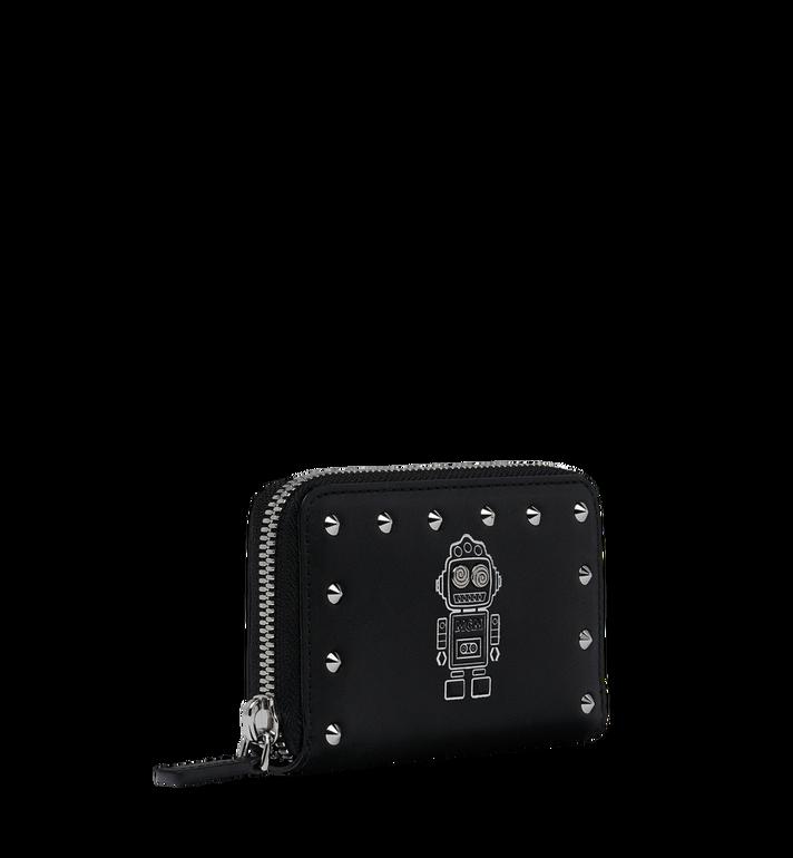 MCM Roboter Kartenbrieftasche aus Nappaleder mit MZS9SRO34BK001 AlternateView2