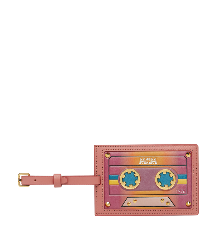 MCM Luggage Tag in MCM Cassette MZZ8AMM28PX001 AlternateView