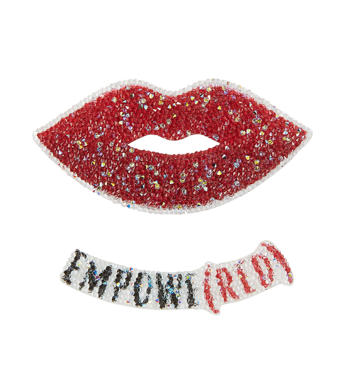 MCM Red Lips Sticker MZZ8SCS50MC001 AlternateView