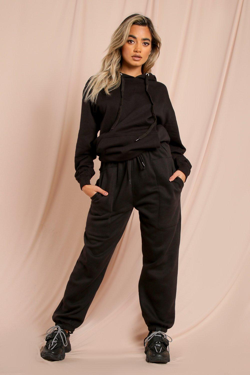 Ruched Waist Oversized Soft Jogger