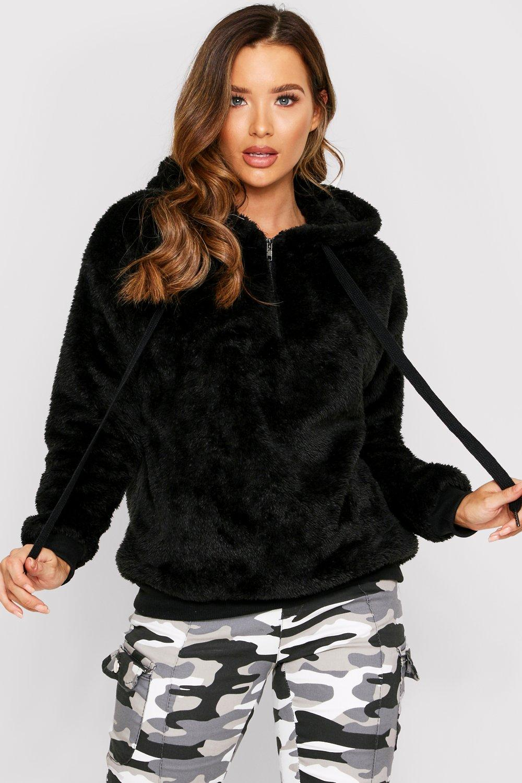 Faux Fur Hoody