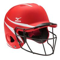 Prospect Series Youth Batting Helmet with Faspitch Softball Mask