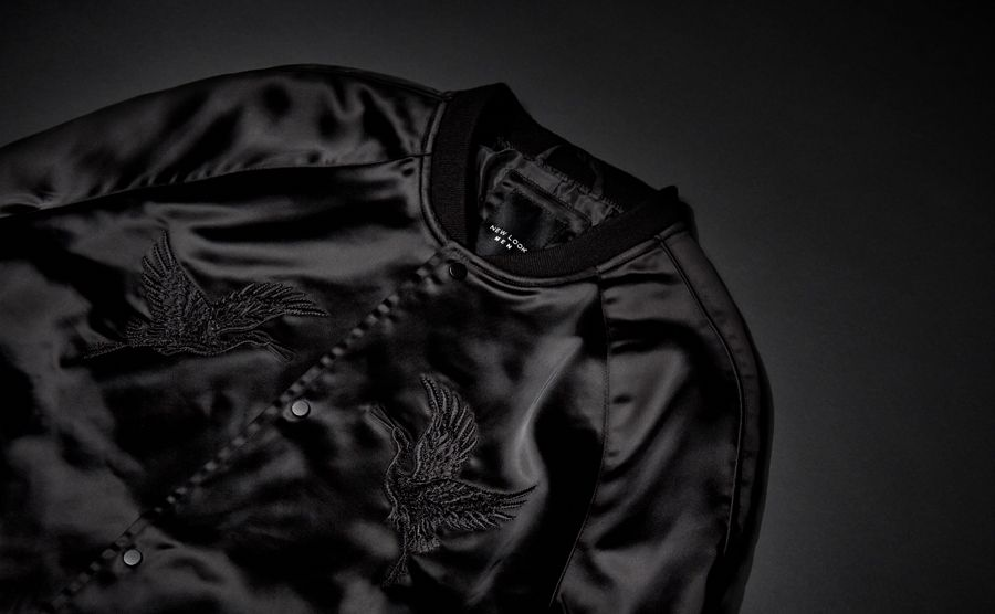 embroidered bombers