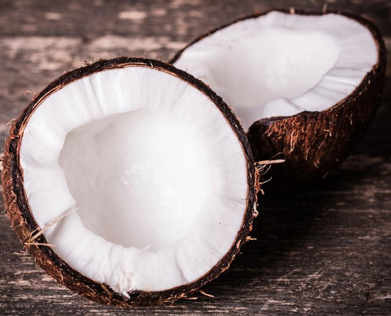 Coconut oil has antimicrobial properties that can help prevent hair loss.