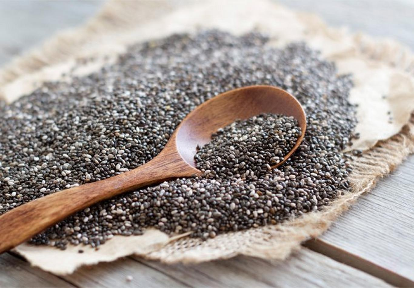 Add chia seeds to your breakfast for further energy, protein and minerals.