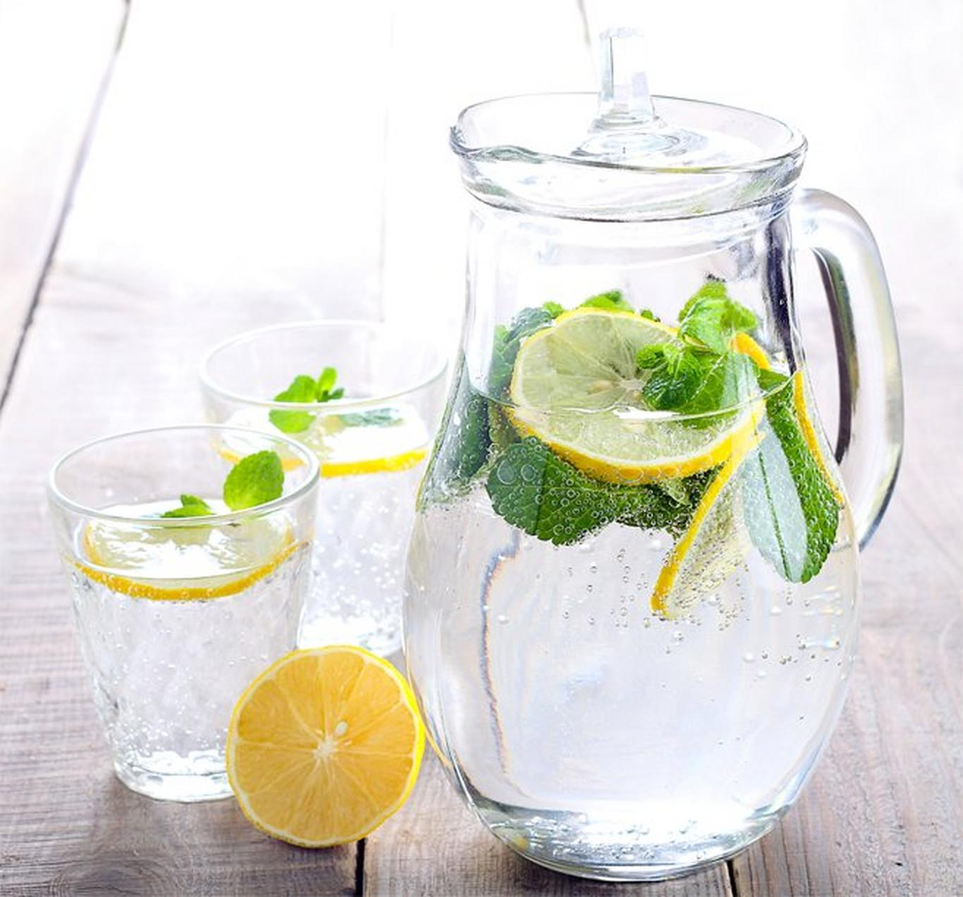 Stay hydrated by drinking 8-10 glasses of pure spring water per day to help decrease the appearance of dark circles.