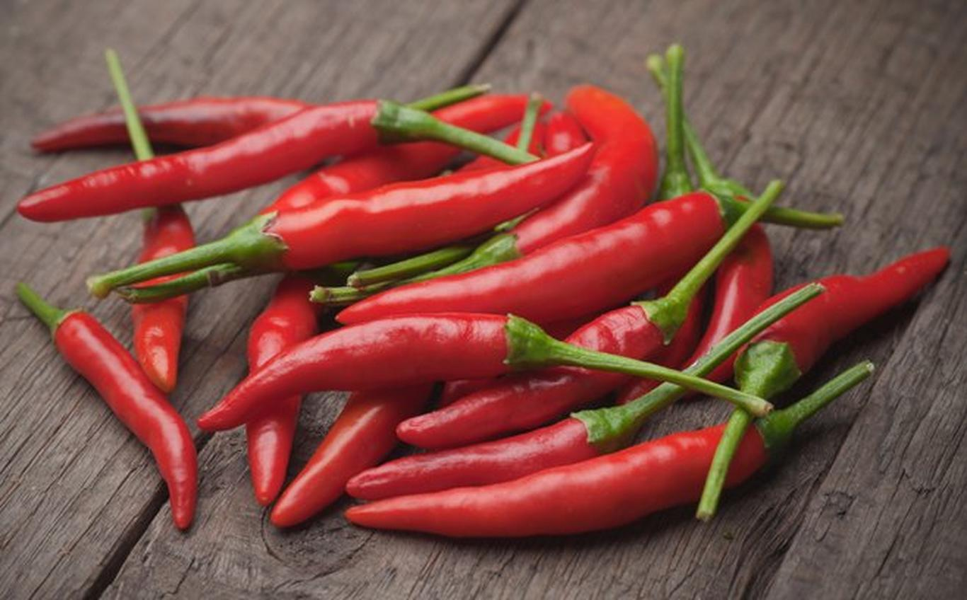 Chili Peppers act as appetite suppressants and can help you avoid overeating.