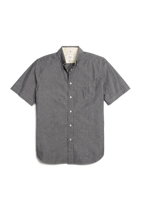 RAG & BONE SHORT SLEEVE STANDARD ISSUE SHIRT