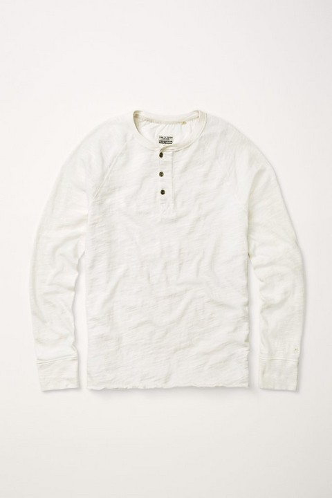 RAG & BONE LONG SLEEVE RAGLAN HENLEY
