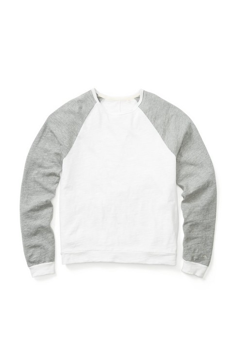 RAG & BONE LONG SLEEVE COLORBLOCK RAGLAN